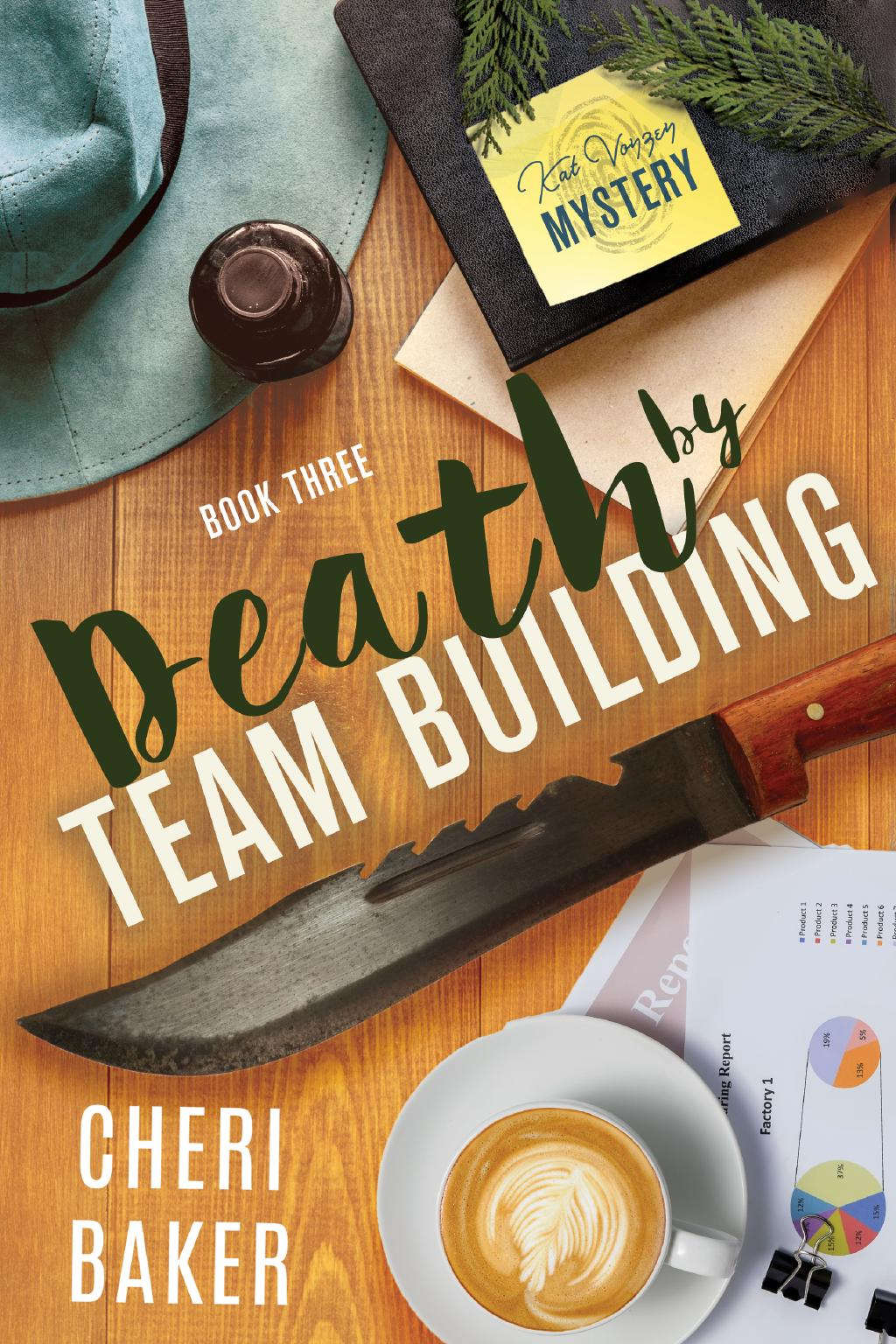Death by Team Building Cover
